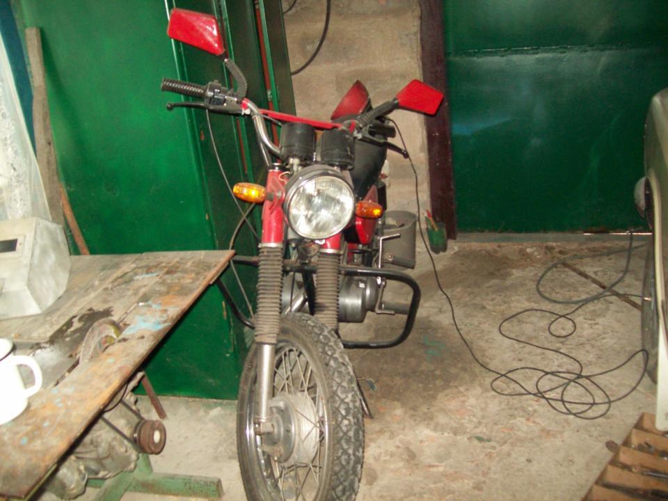 Мотоцикл минск c 125 мой бывший минск