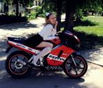 мотоцикл Honda - NS - angry moped  (honda ns1 performance)